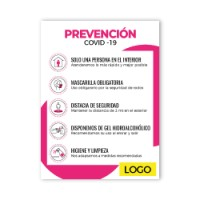 Cartel Prevención