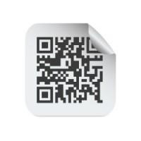 Pegatinas con código QR