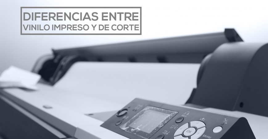 Diferencia entre vinilo de corte y vinilo impreso