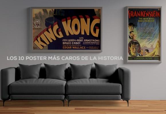Los 10 pósters más caros de la historia del cine.