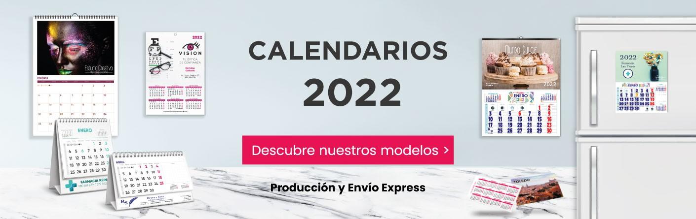 Calendarios personalizados 2022